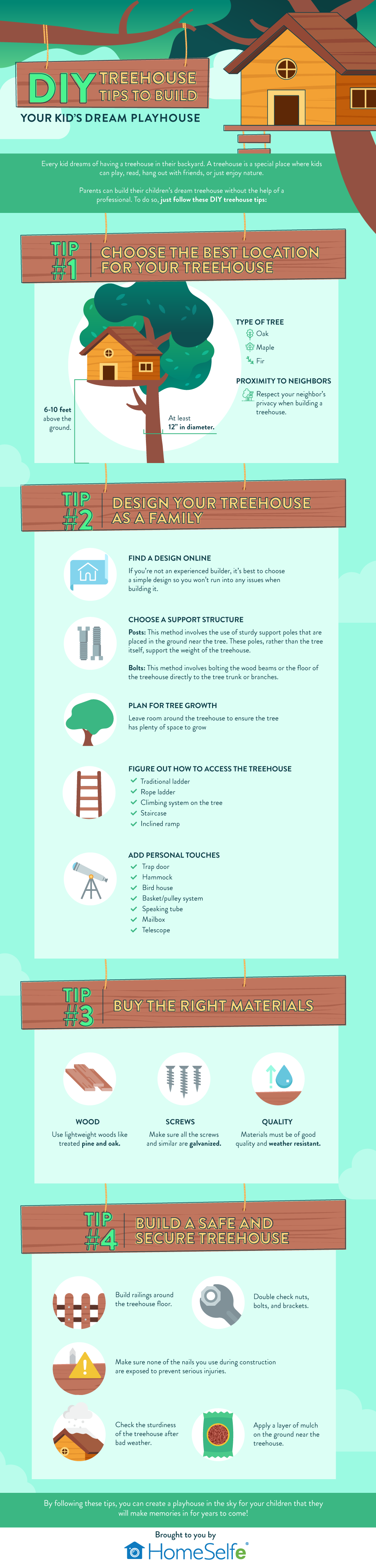 DIY Treehouse Tips