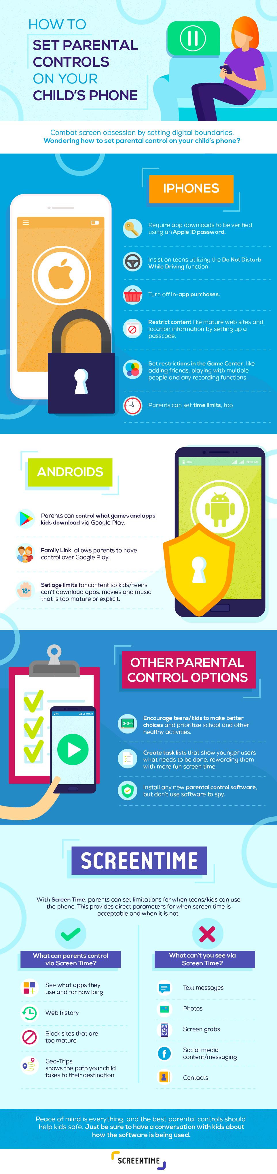 How to Set Parental Controls on Your Child's Phone